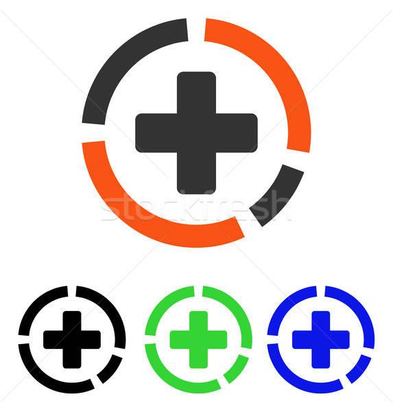 Diagrama vector icono pictograma ilustración Foto stock © ahasoft