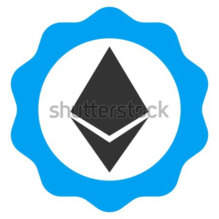 Ethereum Diagram Flat Icon Stock photo © ahasoft