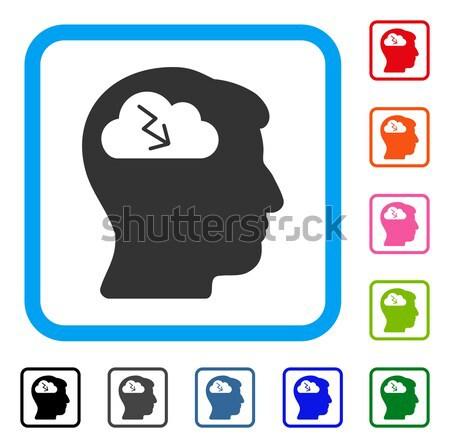 Vector icono pictograma ilustración estilo Foto stock © ahasoft