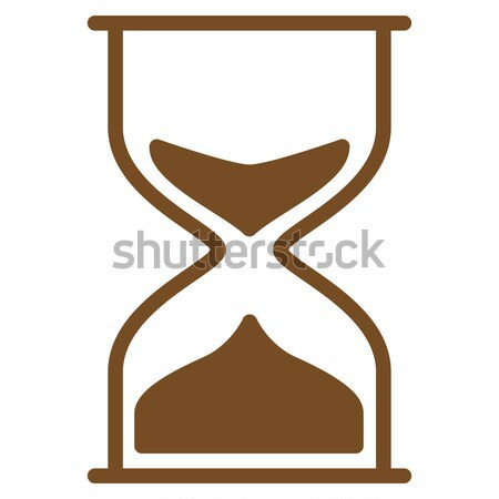 Hourglass Flat Icon Stock photo © ahasoft