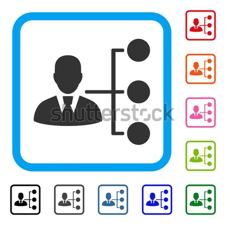Distribution Manager Flat Icon Stock photo © ahasoft