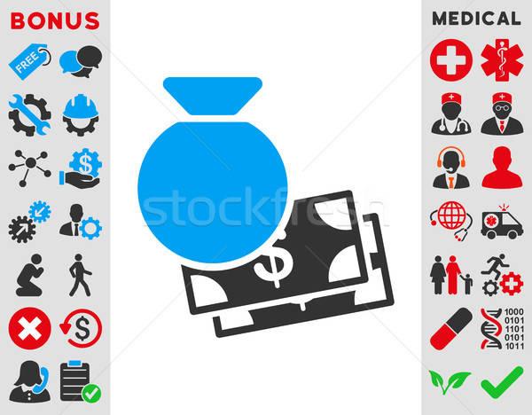 Capital Icon Stock photo © ahasoft