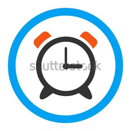 Alarm Clock Flat Vector Icon Stock photo © ahasoft