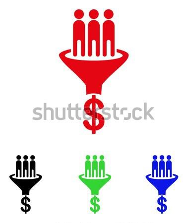 продажи воронка икона вектора стиль графических Сток-фото © ahasoft