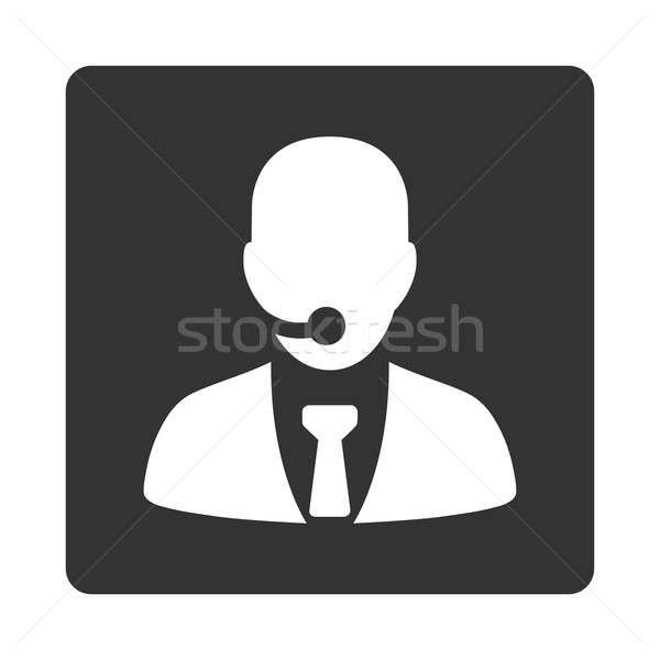 Call center operator icon Stock photo © ahasoft