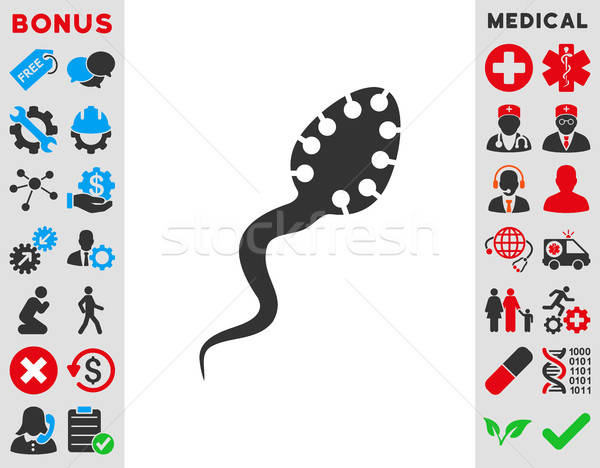 Infectious Microbe Icon Stock photo © ahasoft