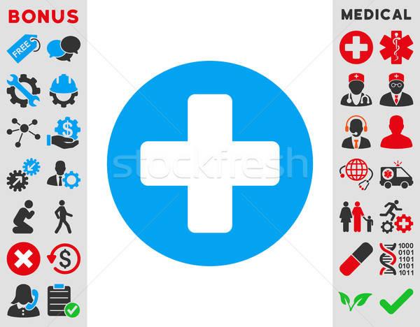 Medicine Icon Stock photo © ahasoft