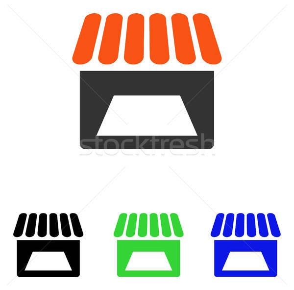 Depolamak vektör ikon örnek stil ikonik Stok fotoğraf © ahasoft