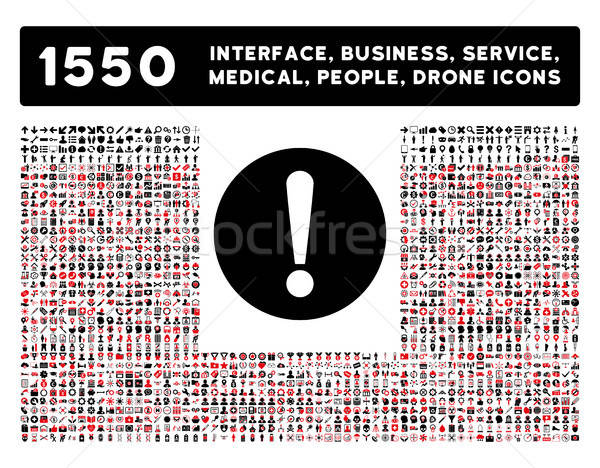 Problem Icon and More Interface, Business, Tools, People, Medical, Awards Flat Vector Icons Stock photo © ahasoft