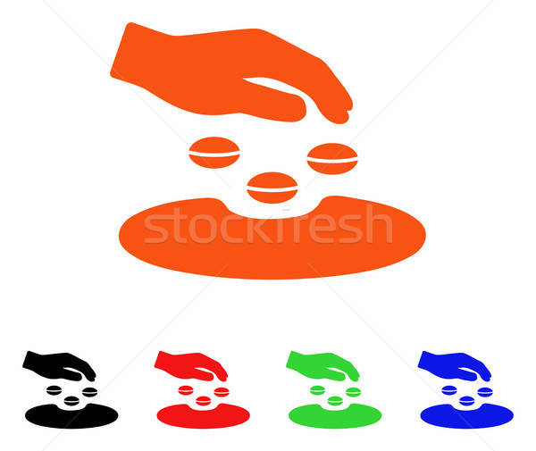 Sow Seeds Vector Icon Stock photo © ahasoft