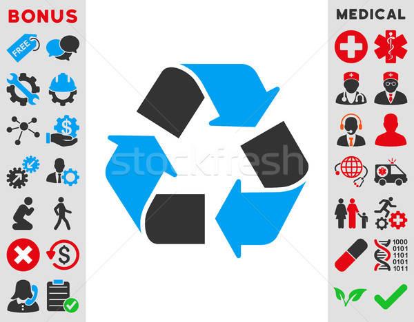 Recycle Icon Stock photo © ahasoft