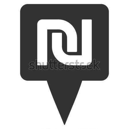 Mapa marcador icono vector estilo gráfico Foto stock © ahasoft