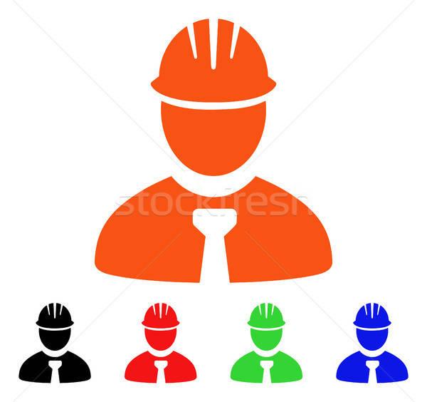 Engenheiro vetor ícone estilo icônico símbolo Foto stock © ahasoft