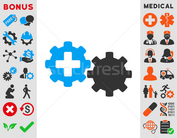 Medical Process Icon Stock photo © ahasoft