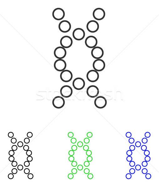 Genoma vetor ícone ilustração estilo icônico Foto stock © ahasoft