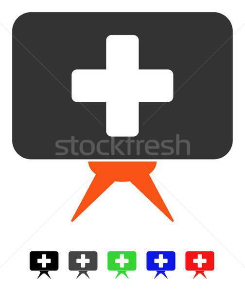 Presentación icono color negro Foto stock © ahasoft
