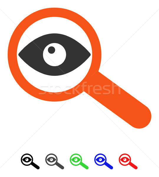 Investigate Flat Icon Stock photo © ahasoft