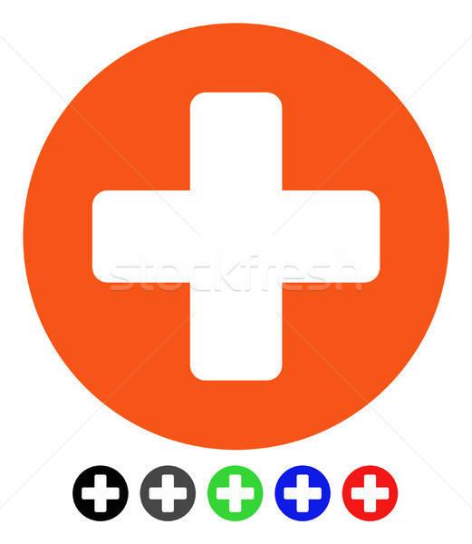 Medicine Flat Icon Stock photo © ahasoft