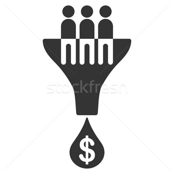 Foto stock: De · vendas · filtrar · ícone · pictograma · estilo · gráfico
