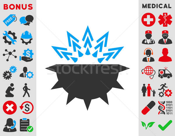 Viral Structure Icon Stock photo © ahasoft