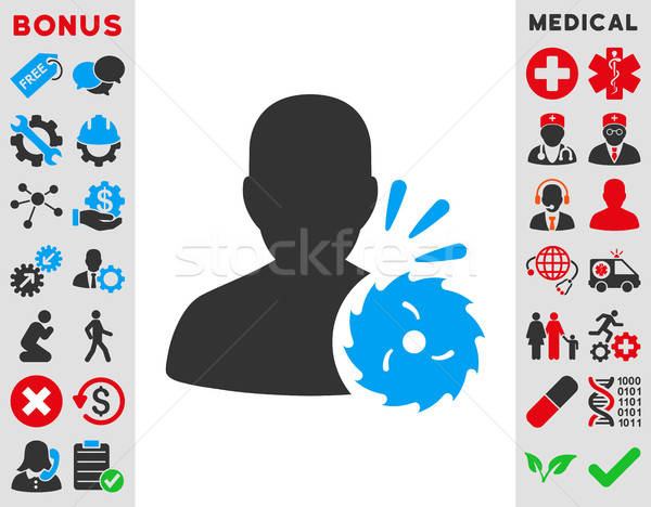 Body Execution Icon Stock photo © ahasoft