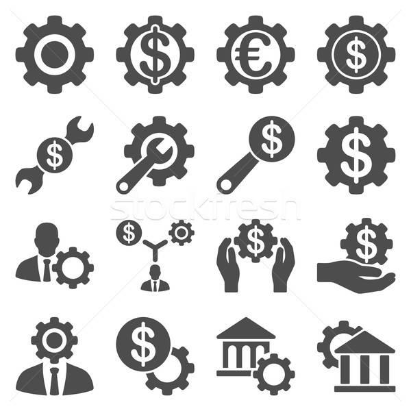 Stok fotoğraf: Finansal · araçları · seçenekleri · vektör · stil
