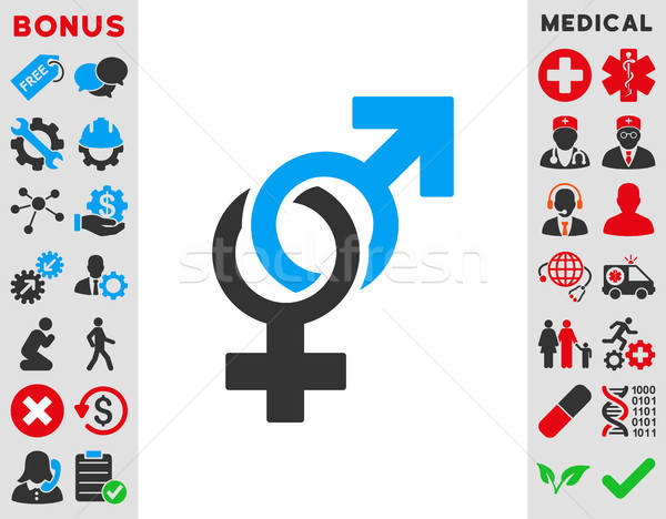 Sexual Symbols Icon Stock photo © ahasoft