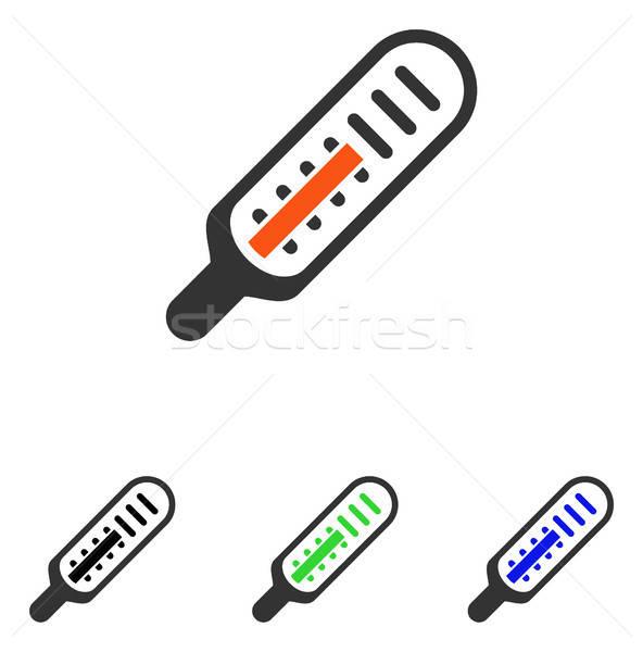 Termômetro vetor ícone ilustração estilo icônico Foto stock © ahasoft