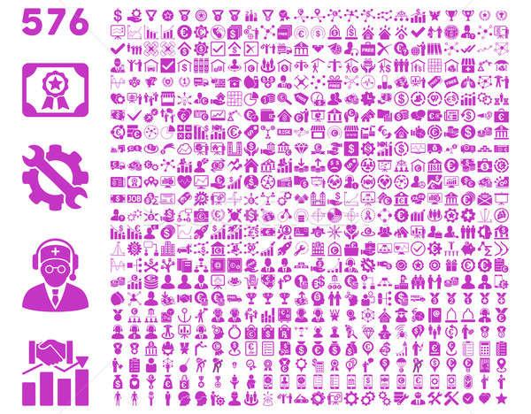 Flat Toolbar Icons Stock photo © ahasoft
