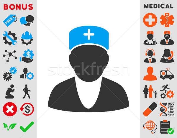 Doctor Icon Stock photo © ahasoft