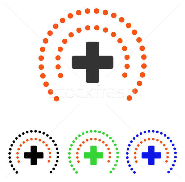 Health Care Protection Flat Vector Icon Stock photo © ahasoft