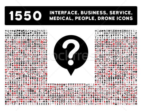 Estado icono más interfaz negocios herramientas Foto stock © ahasoft