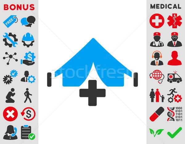 Filed Hospital Icon Stock photo © ahasoft