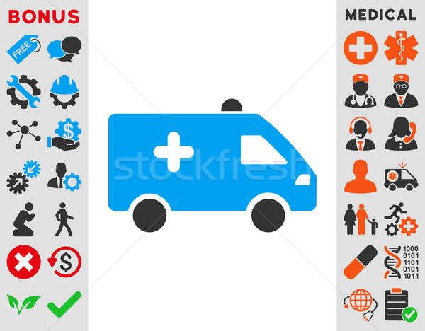 Hospital Car Icon Stock photo © ahasoft