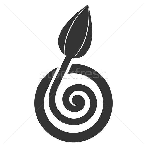 芽 圖標 象形 風格 圖形 商業照片 © ahasoft