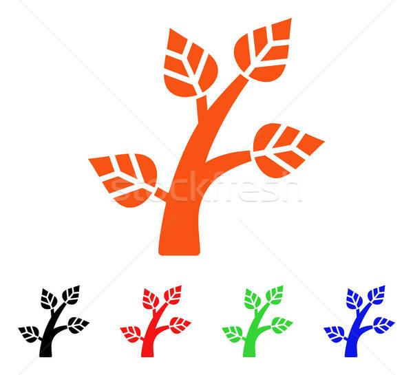 Plant Tree Vector Icon Stock photo © ahasoft