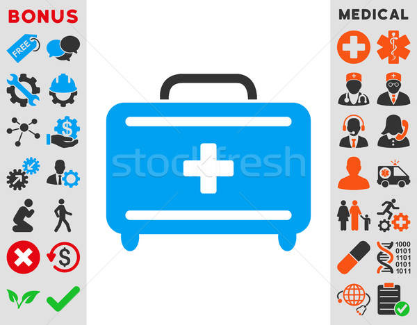 First Aid Toolkit Icon Stock photo © ahasoft