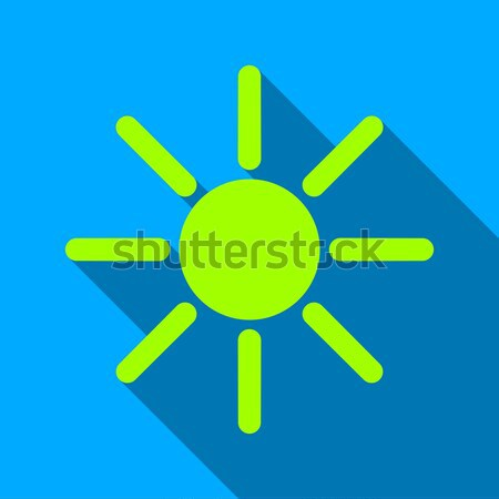 Brightness Flat Vector Icon Stock photo © ahasoft
