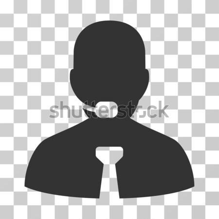 Ethereum Operator Manager Flat Icon Stock photo © ahasoft