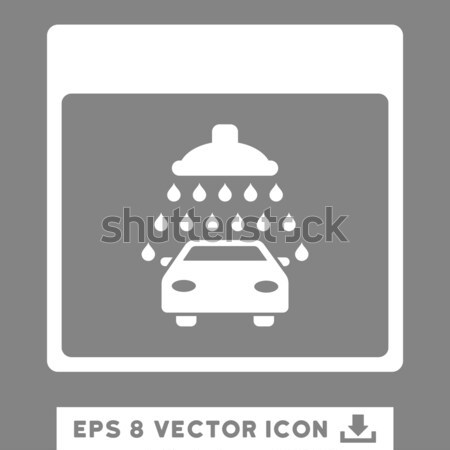Car Shower Marker Flat Icon Stock photo © ahasoft