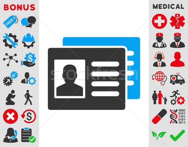 Patient Accounts Icon Stock photo © ahasoft
