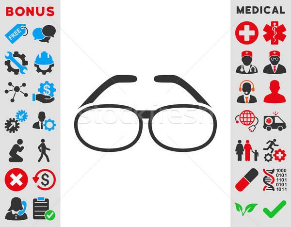 Spectacles Icon Stock photo © ahasoft