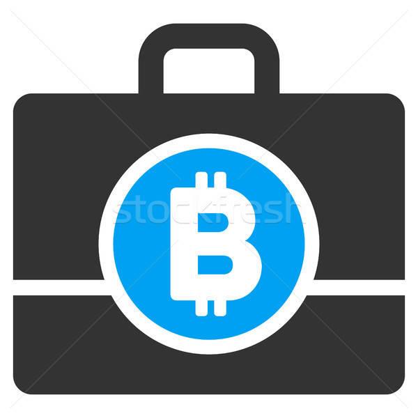 Bitcoin durum ikon uygulama web tasarım iş Stok fotoğraf © ahasoft