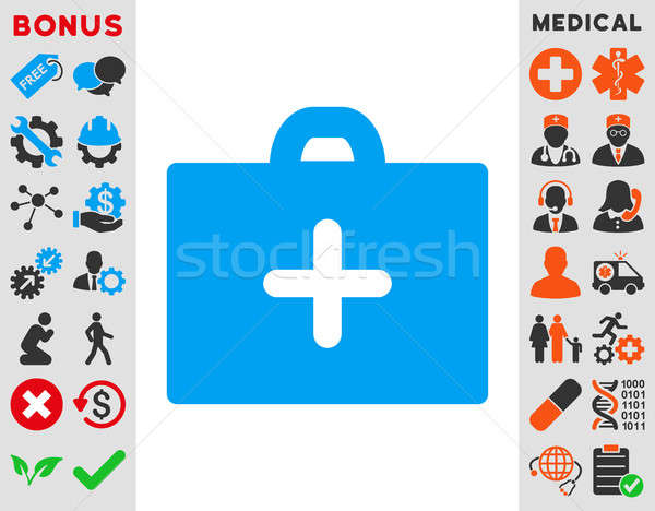 First Aid Icon Stock photo © ahasoft