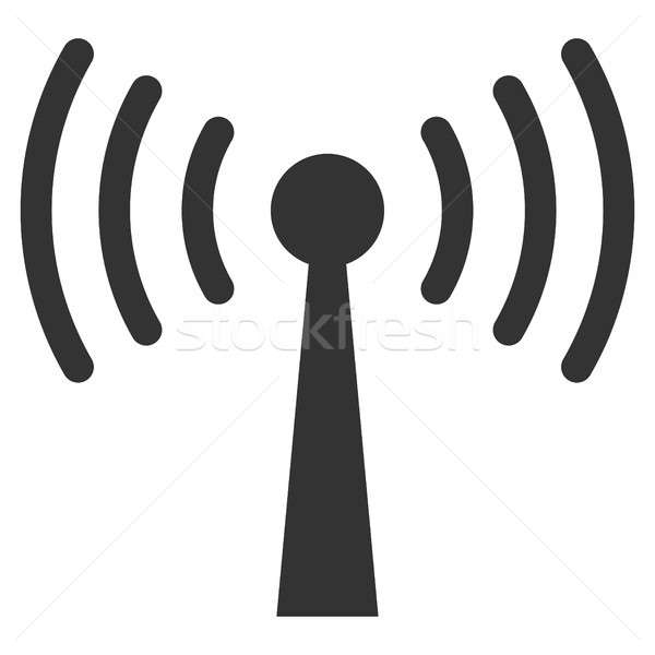 Wi-Fi Station Flat Raster Icon Stock photo © ahasoft