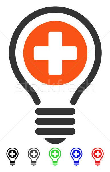 Medical Bulb Flat Icon Stock photo © ahasoft