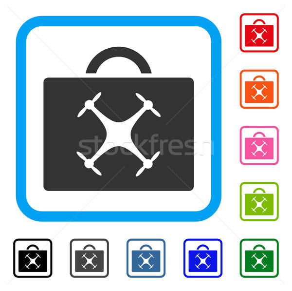 Drone Toolbox Framed Icon Stock photo © ahasoft