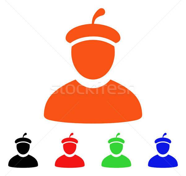 Artista vector icono estilo icónico símbolo Foto stock © ahasoft