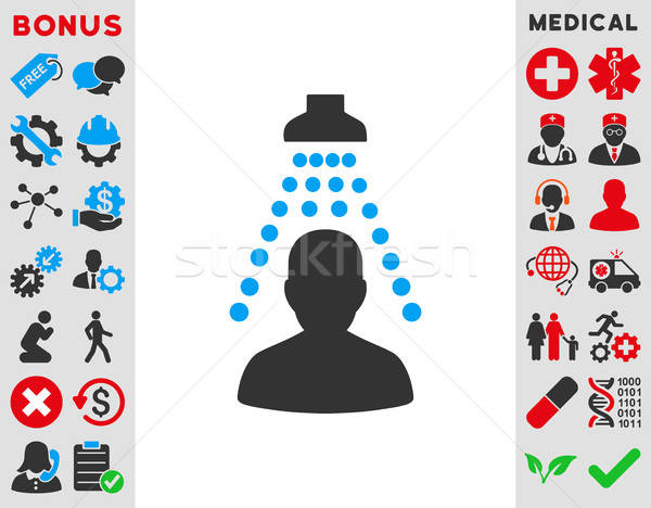 Patient Disinfection Icon Stock photo © ahasoft