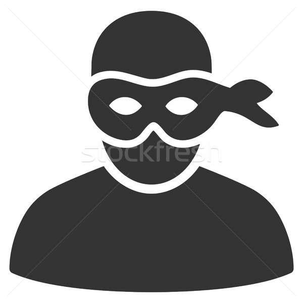 Anonimious Thief Raster Icon Stock photo © ahasoft